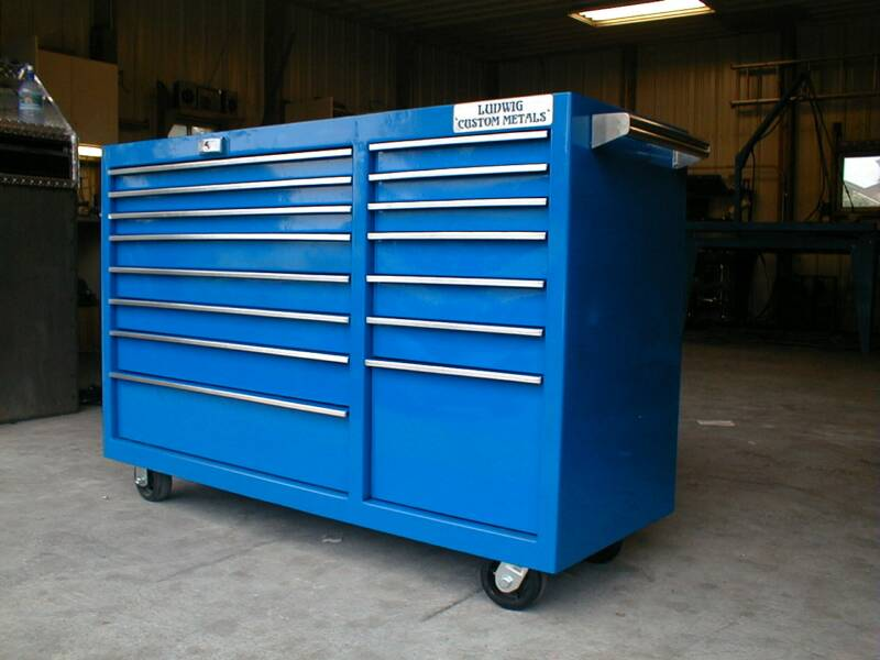 rolling garage storage ideas - Custom Tool Storage